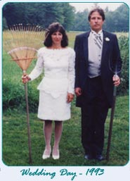 Meet the Innkeepers on their wedding day in 1993!